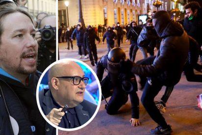 """'Lluvia de palos' a los políticos endebles con los violentos: """"Tienen como tropa a la hez de la sociedad"""""""