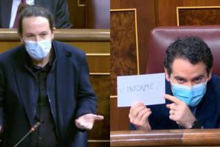 """Iglesias se pone más matón que nunca con García Egea y Toni Cantó le sacude: """"Es repugnante, prepotente y pedante"""""""