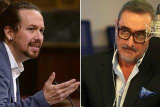 """Herrera se encara con el matón Iglesias: """"Aquí te espero; estoy deseando que un estalinista quiera censurarme"""""""