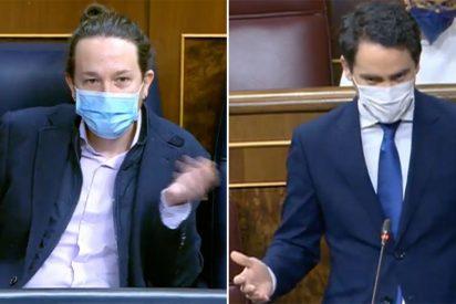 El colosal troleo de García Egea a Iglesias: saca en el Congreso a la niñera, el casoplón vigilado y todos los pufos podemitas