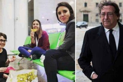 Alfonso Ussía solicita a Irene Montero ser la niñera de su hija por la mitad de sueldo de Teresa Arévalo