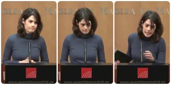 Isa Serra deja a un periodista con la palabra en la boca para no responder sobre el 'caso Neurona'