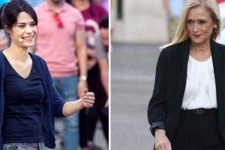"""El zasca viral de Cristina Cifuentes a la podemita Isa Serra por quejarse de su absolución: """"Esto lo dice una condenada"""""""