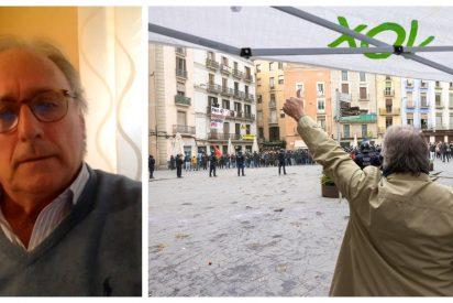 """Juanjo Aizcorbe (VOX): """"Me emocionó ver a una señora de 80 años suplicando ayuda ante los fanáticos separatistas"""""""