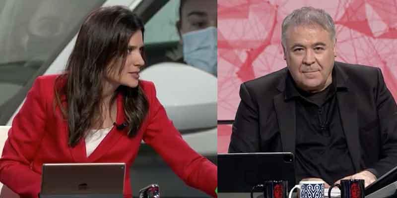 """María Llapart (laSexta) se sube a las barbas de su jefe, García Ferreras: """"Antonio, ya ¡Te tienes que marchar!"""""""