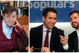 """Losantos: """"Casado tapó el desastre electoral con el deshonor judicial; tiene el deshonor y agrava el desastre"""""""