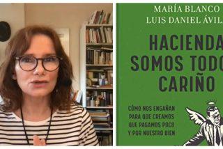 """María Blanco: """"Nos han comido la cabeza para que pensemos que pagar menos impuestos está mal"""""""