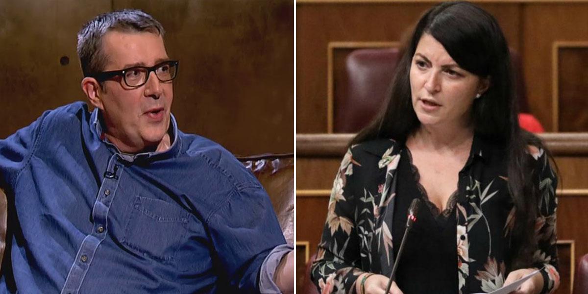 Un tipejo anda suelto en 'Público': el bufón Máximo Pradera le desea un cáncer a Macarena Olona