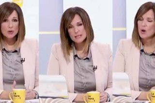 """Mónica López (TVE) ya tiene lo que buscaba 'gracias' al infame rótulo de Leonor: """"Estamos en la portada de los periódicos"""""""