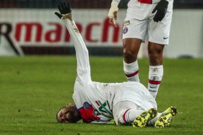 Neymar no jugará contra el FC Barcelona en Champions por su última lesión