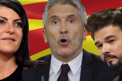 """Olona culpa al """"indigno Marlaska"""" y a los """"cachorros"""" de Rufián de las agresiones a VOX en Cataluña"""