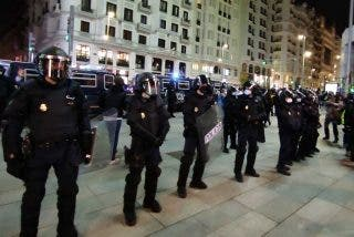 Así fue el exitoso operativo policial que impidió que elementos de ultra-izquierda reventaran Madrid