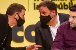 """Negre 'acorrala' a Otegi en un hotel de Barcelona y le pregunta si condena el terrorismo de ETA: """"¡No!"""""""