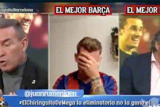 """Pedrerol amenaza con una salvaje limpia en 'El Chiringuito': """"Vamos a hacer unos cambios"""""""