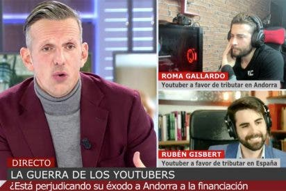 Un youtuber le recuerda a Joaquín Prat el pastizal de ayudas públicas que se llevó Mediaset con nuestros impuestos