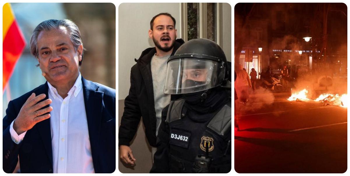 """De Quinto: """"Un idiota es condenado por apología del terrorismo y sus seguidores queman Cataluña"""""""