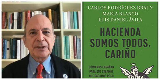 """Carlos Rodríguez Braun: """"El Estado es muy hábil en hacernos creer que gestiona nuestro dinero en lugar de quitárnoslo"""""""