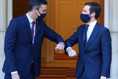 Tiembla La Moncloa: el PP de Pablo Casado superaría al PSOE de Pedro Sánchez si hoy hubiera elecciones
