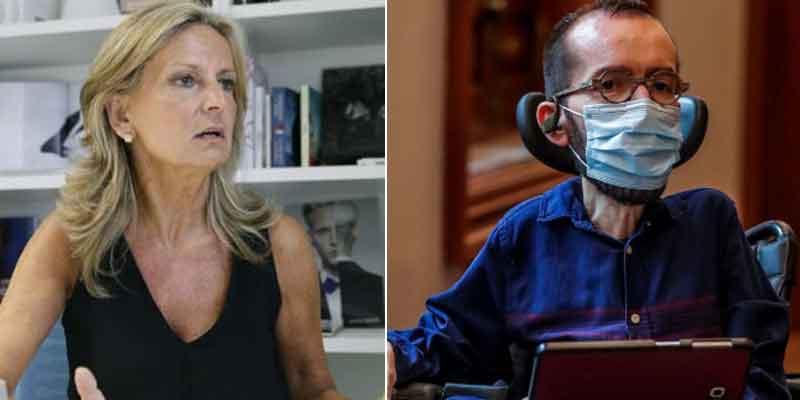 Isabel San Sebastián comanda una rebelión contra Twitter para que suspenda la cuenta de Echenique por aplaudir la violencia