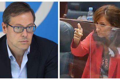 """Alfonso Serrano (PP): """"Mónica García daba lecciones de moral mientras cobraba dinero que no le correspondía"""""""