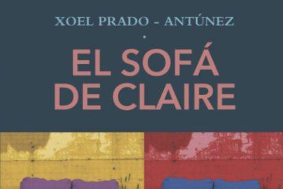 Portada de El sofá de Claire, de Xoel Prado-Antúnez
