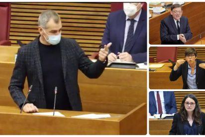 """Cantó destroza a PSOE, Podemos y Compromís: """"¿Por qué apoyan a Hasel y condenan un poema a Irene Montero?"""""""