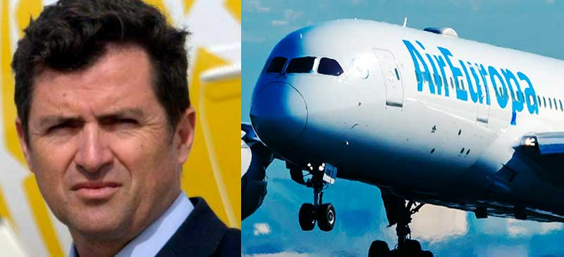 Valentín Lago nuevo CEO de Air Europa