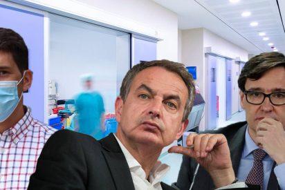 """La confesión de un epidemiólogo sacude al PSOE: """"Zapatero admitió que Illa fracasó en la gestión del COVID"""""""