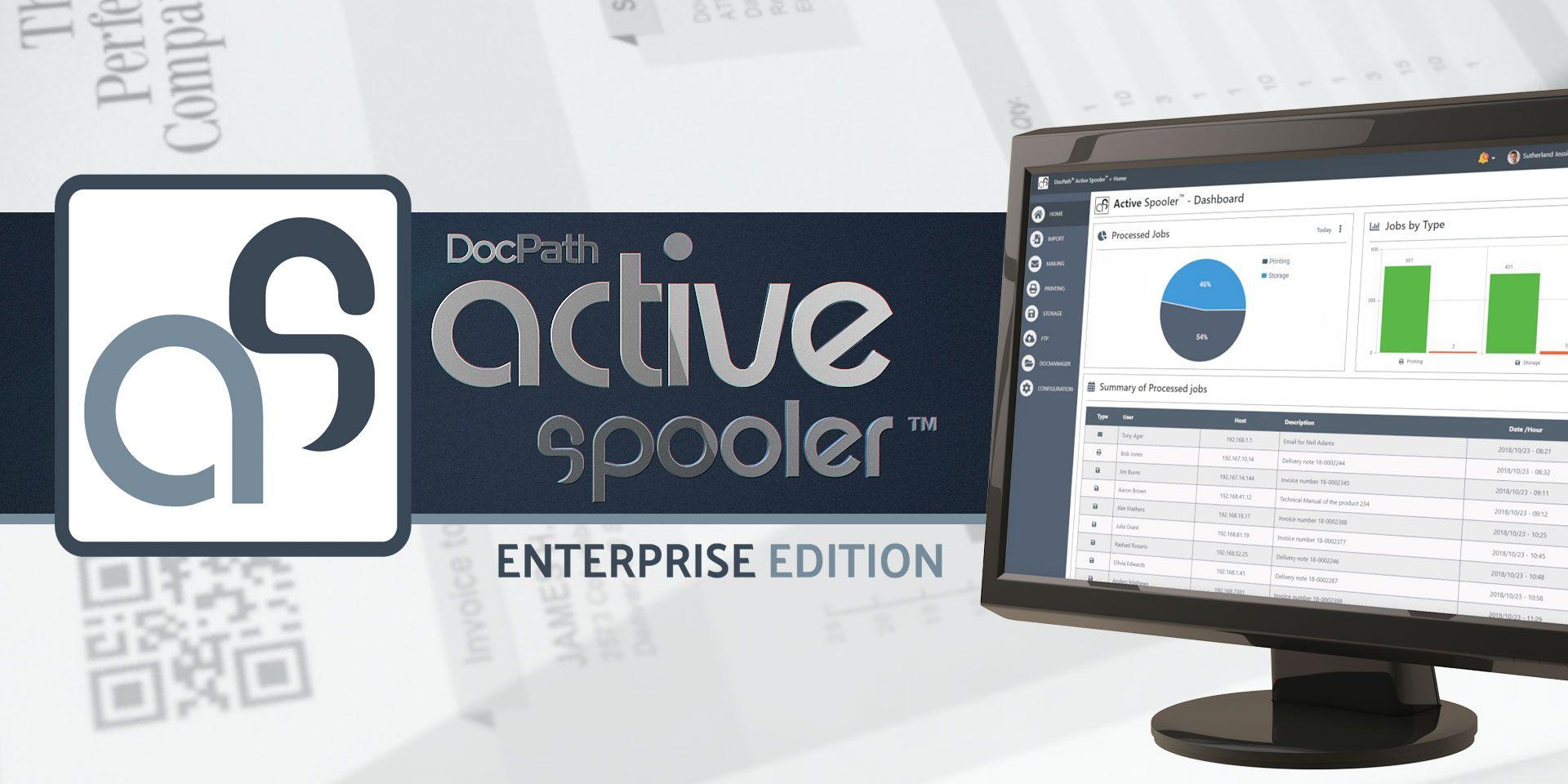 Una potente solución multiplataforma de generación de documentos: DocPath ActiveSpooler Enterprise