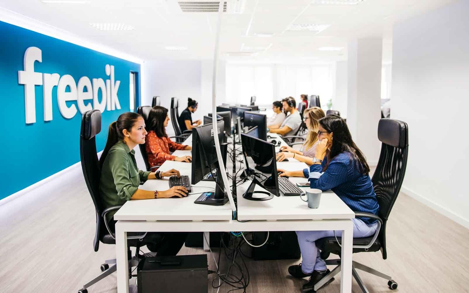 Freepik Company crece un 69% y genera 136 nuevos puestos de trabajo en 2020