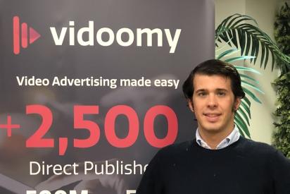 José Ignacio Rubio se incorpora a Vidoomy como miembro de su fuerza comercial en Madrid