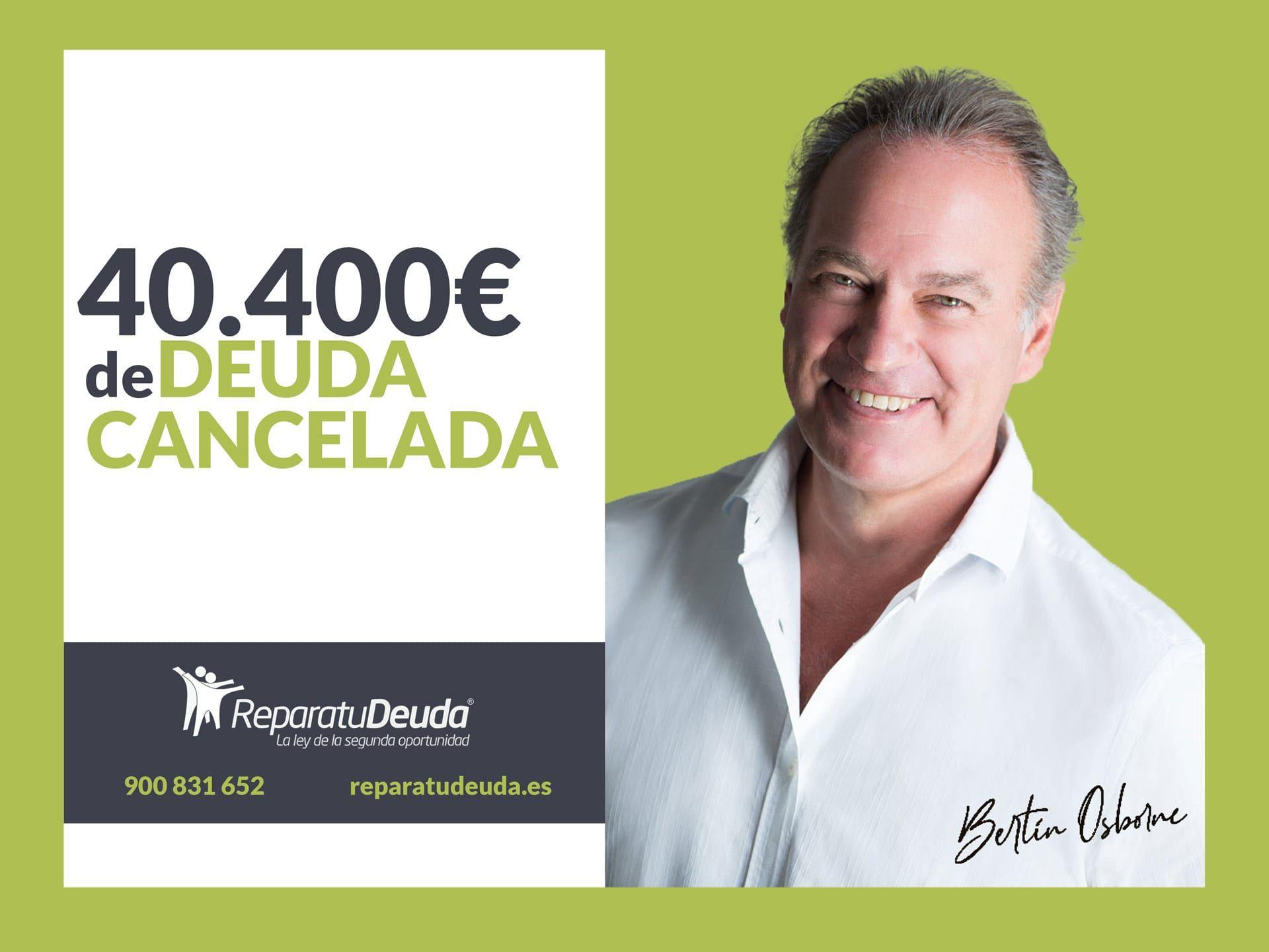 Repara tu Deuda abogados cancela 40.400€ en La Rioja (Logroño) con la Ley de Segunda Oportunidad