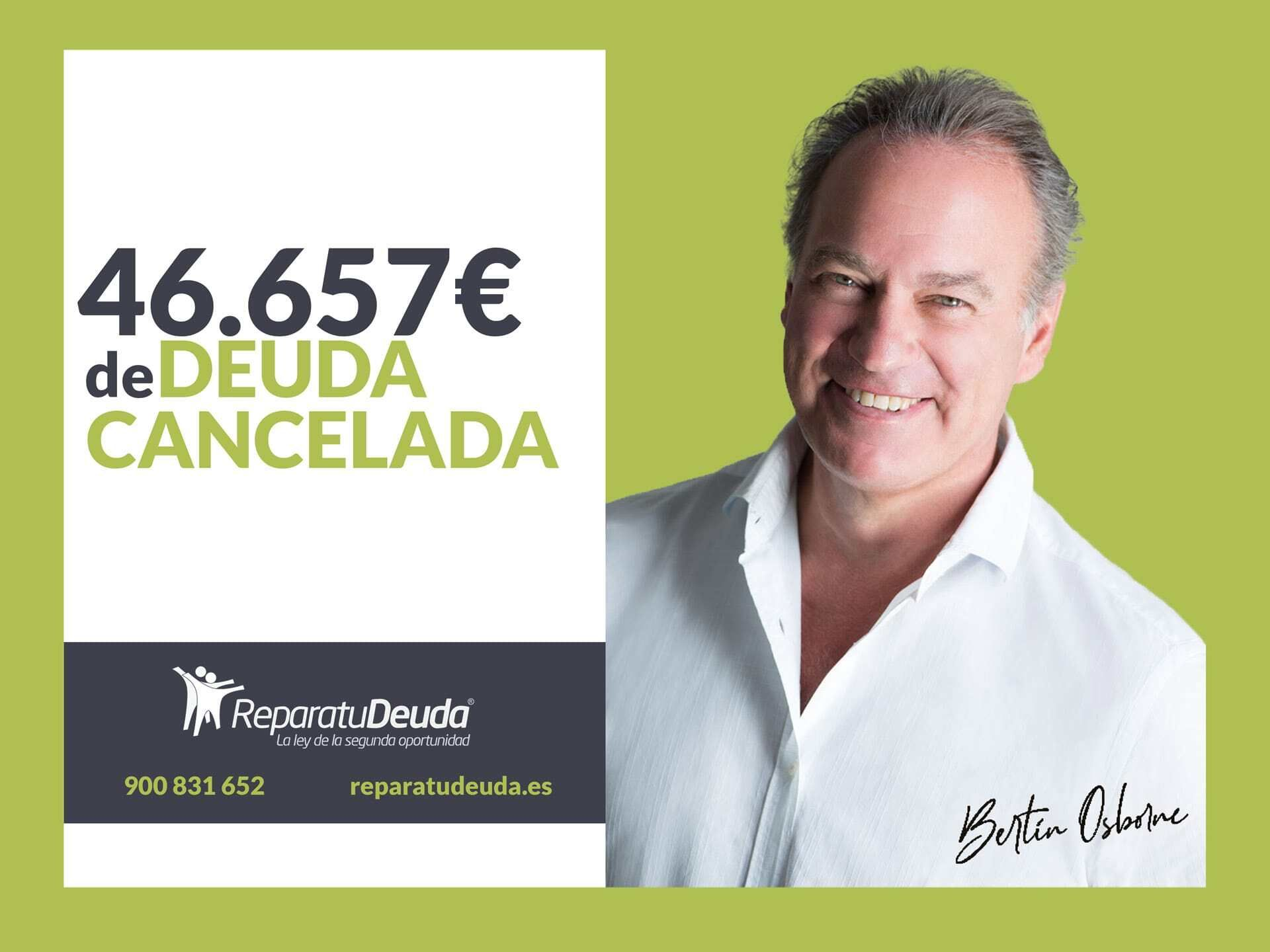 Repara tu Deuda cancela 46.657 € de deuda en Barcelona con la Ley de la Segunda Oportunidad