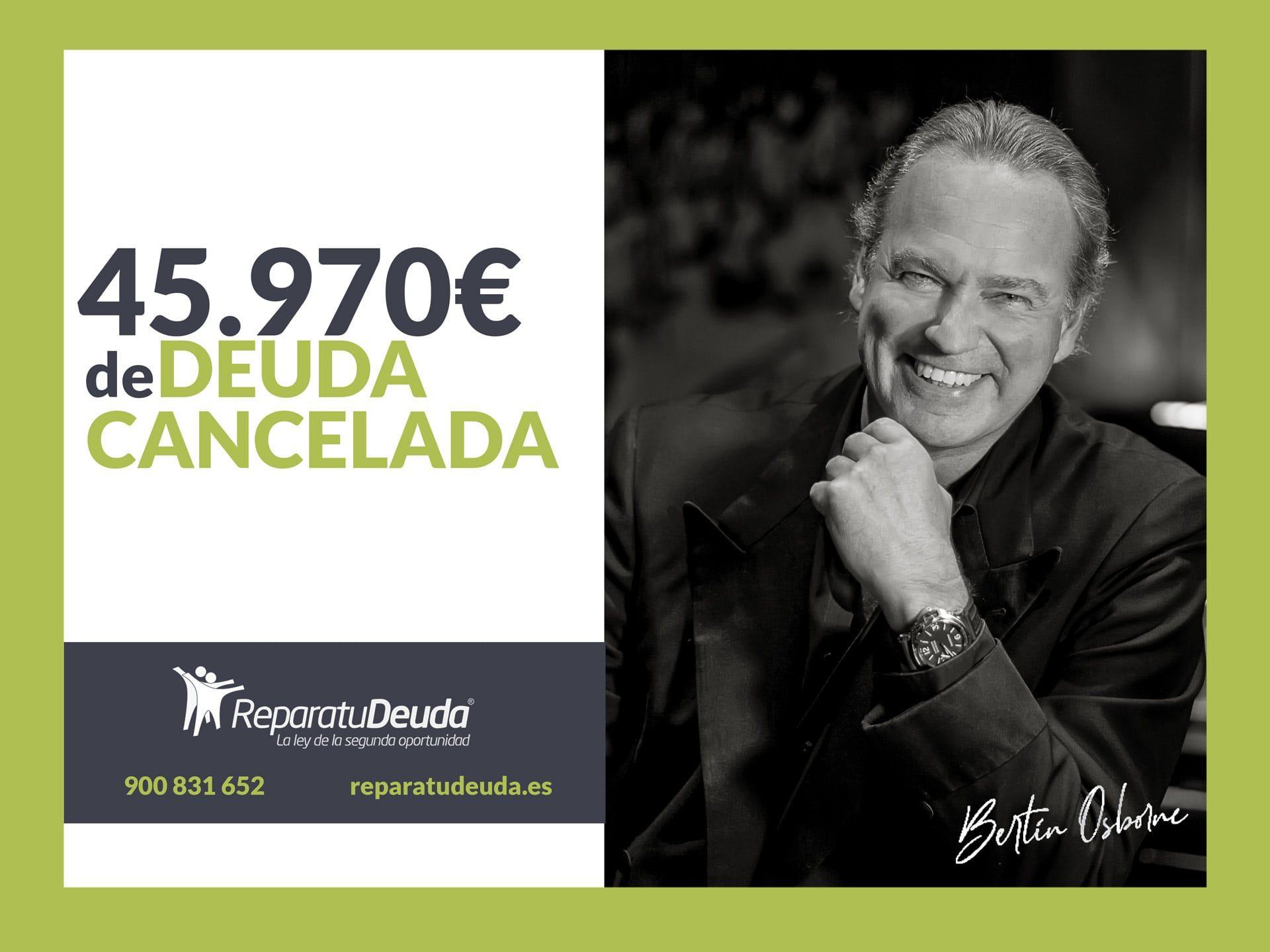 Repara tu Deuda Abogados cancela 45.970€ en Salamanca con la Ley de la Segunda Oportunidad