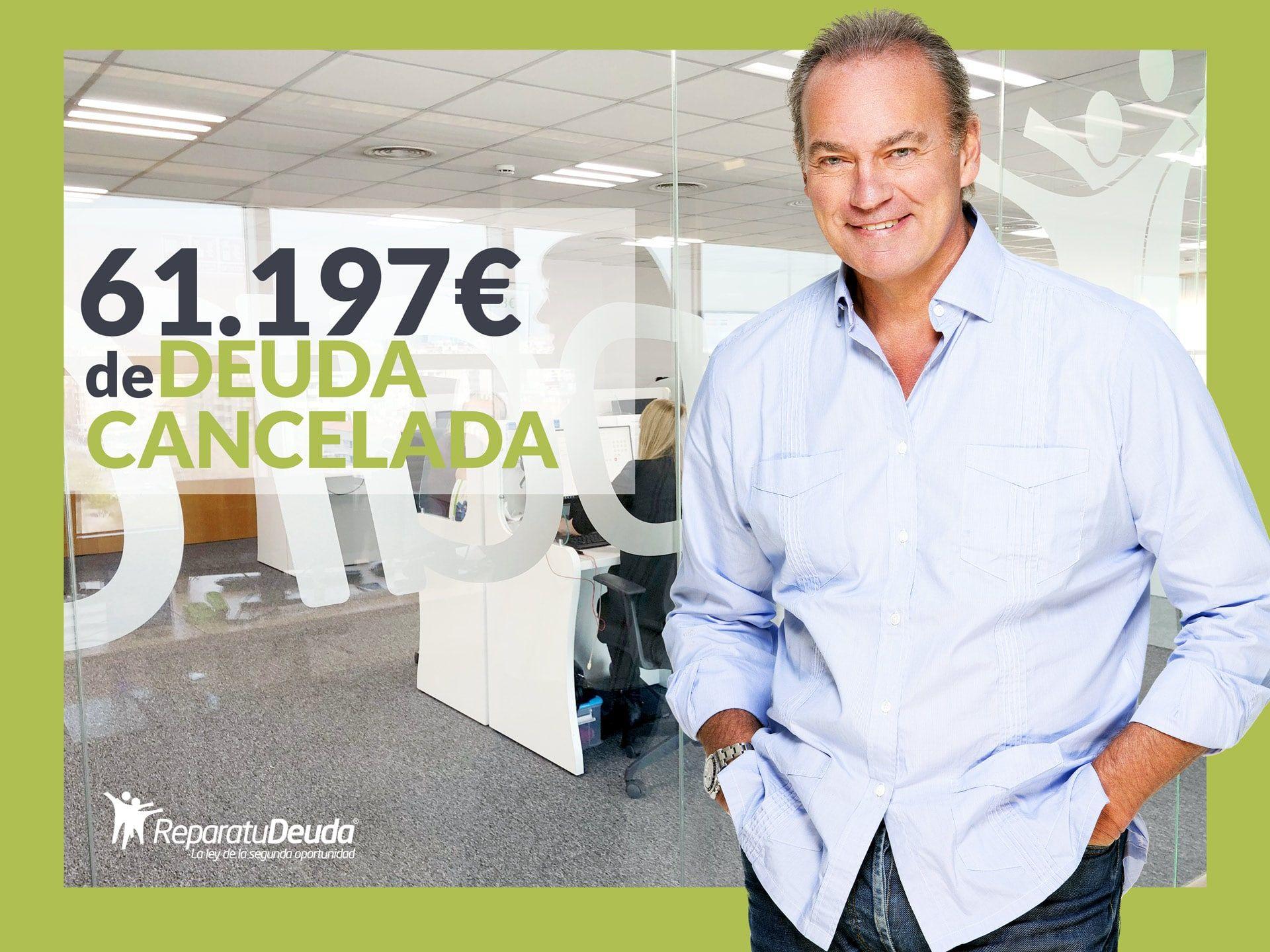 Repara tu Deuda Abogados cancela 61.197€ en Barcelona con la Ley de la Segunda Oportunidad