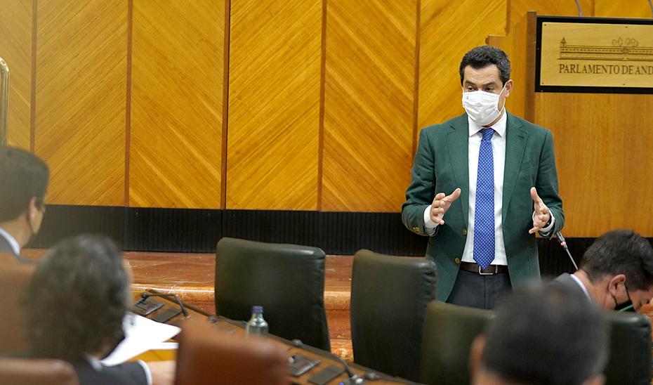 Juanma Moreno pone en valor la estabilidad del Gobierno andaluz para atraer inversión y crear empleo