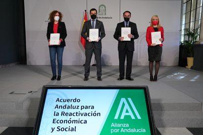 Moreno anuncia 732 millones en ayudas directas para los sectores afectados por el Covid 19