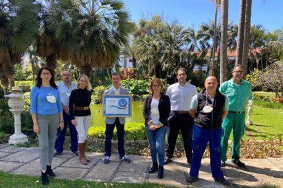 El Hotel Botánico de Tenerife recibe el premio TUI Global Hotel Award