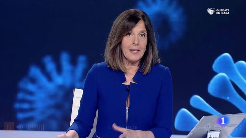 Un micrófono abierto le juega una mala pasada a Ana Blanco (TVE)
