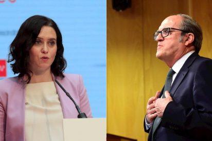 Ayuso rebate el bulo de Gabilondo (PSOE) sobre la suspensión de la vacunación en Madrid durante Semana Santa