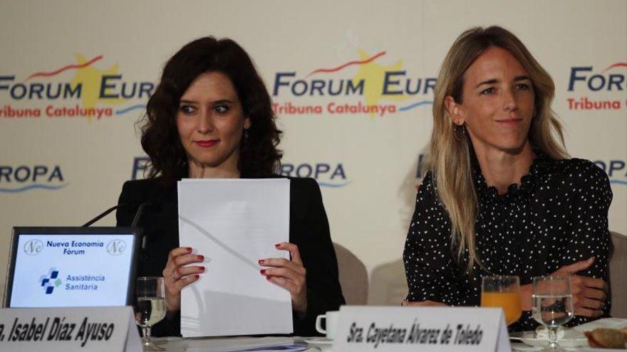 Cayetana Álvarez de Toledo denuncia la campaña de acoso de El País contra Isabel Díaz Ayuso