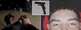 """""""No quiero morir"""": el policía dispara dos veces al chaval cuando ve que intenta coger la pistola"""