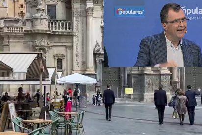C's firma su acta de defunción en Murcia entregando la alcaldía a PSOE y Podemos