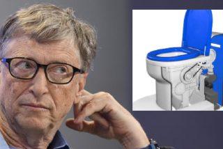 Este es el vater de Bill Gates  que funciona sin agua ni desagüe