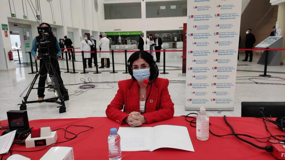 La ministra de Sanidad enerva a Twitter con una posible ampliación del estado de alarma