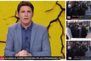 """La frase de Villacís que TVE manipuló durante varias horas: """"Como gobiernen PSOE y Podemos nos habéis jodido"""""""
