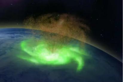 Las impresionantes imágenes de un huracán espacial