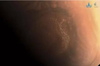 La impresionante imagen en HD de Marte tomada por el Tianwen 1 de China