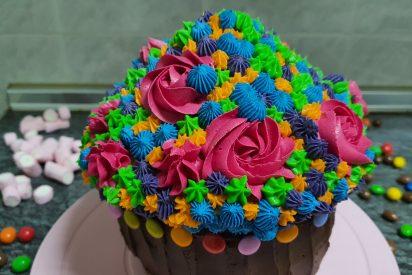 Receta: el cupcake gigante