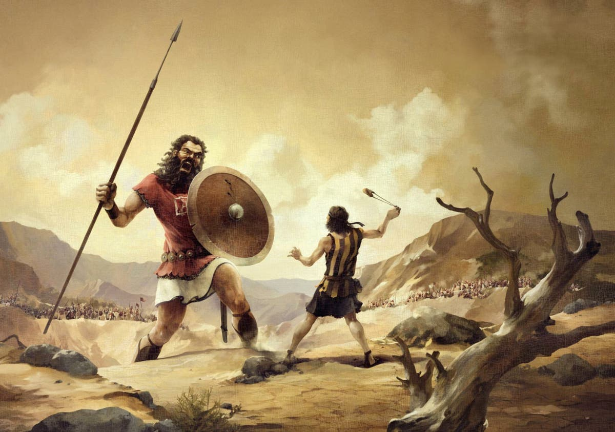 La respuesta de un niño a la pregunta '¿quién mató a Goliat?', arrasa en redes sociales